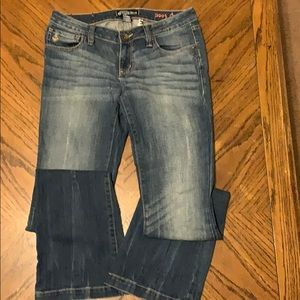 Volcom Brand Jeans Boot Cut Coupe bottillon